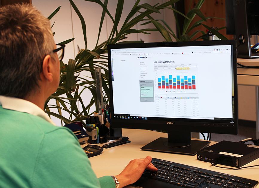 Arosa Energie Kundenportal