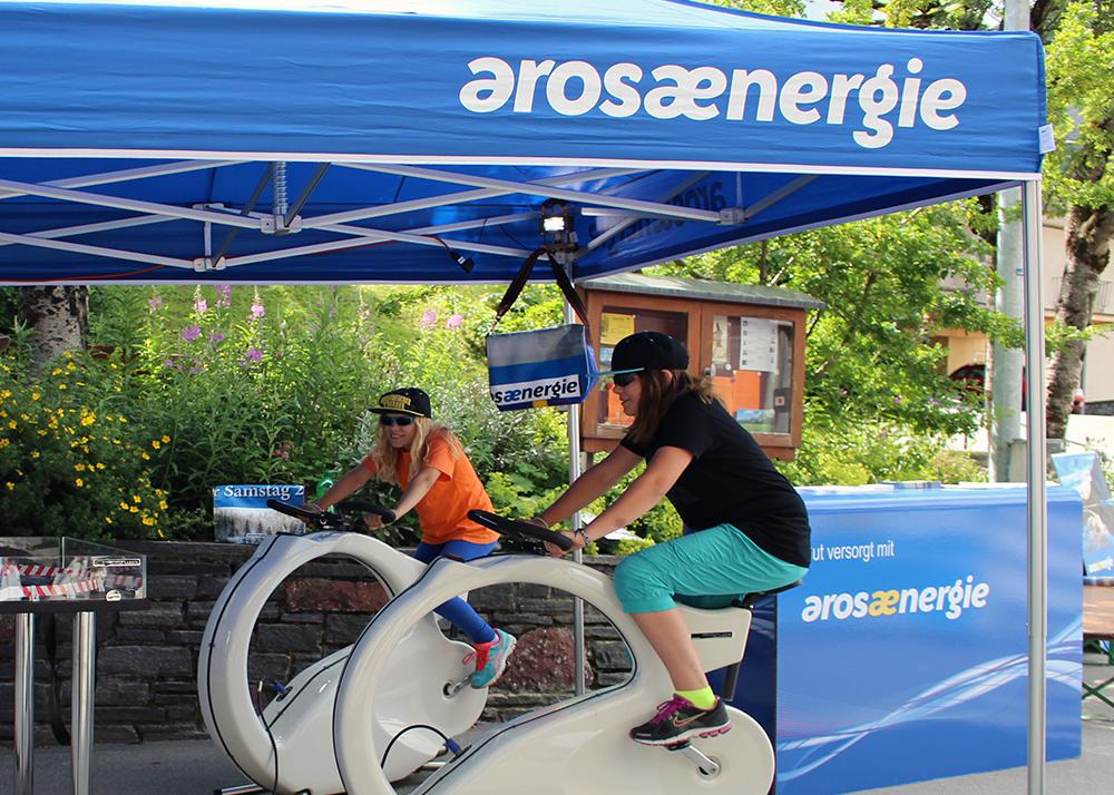 Arosa Energie unterstützt